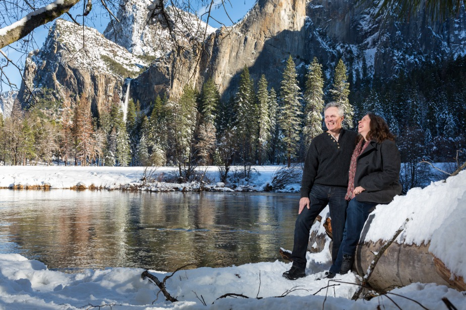 Adriana & Jeffery's Yosemite Adventure Session